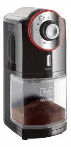 Kaffeebohnen elektrisch mahlen