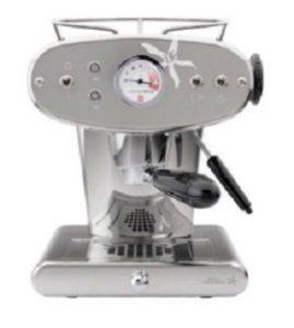 Siebtraegermaschine Espresso Silber